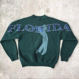 Florida Golf Crewneck Sweater
